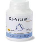 D2-vitamin 75 mcg, 100 kapsla