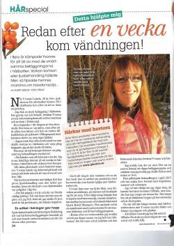 Yvonne, Hemmets Veckotidning, Feb 2016